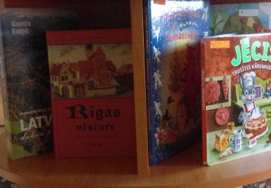 Biķernieku pagasta bibliotēka. Jaunas grāmatas aprīlī