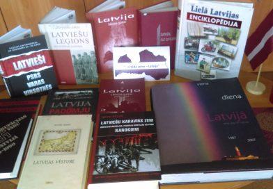 """Grāmatu izstāde """"…ir tāda zeme Latvija"""""""